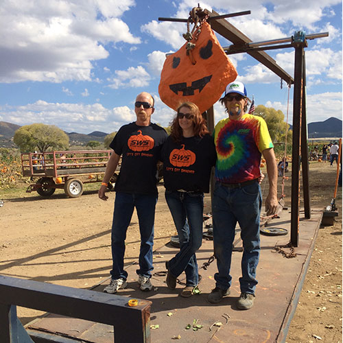 Pumpkin Chunkin at Arizona's favorite pumpkin farm, Mortimer Farms!